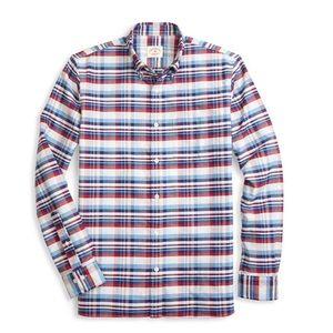 Brooks Brothers Red Fleece Shirt